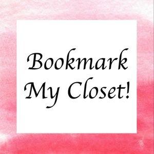 Like this post to bookmark my closet!